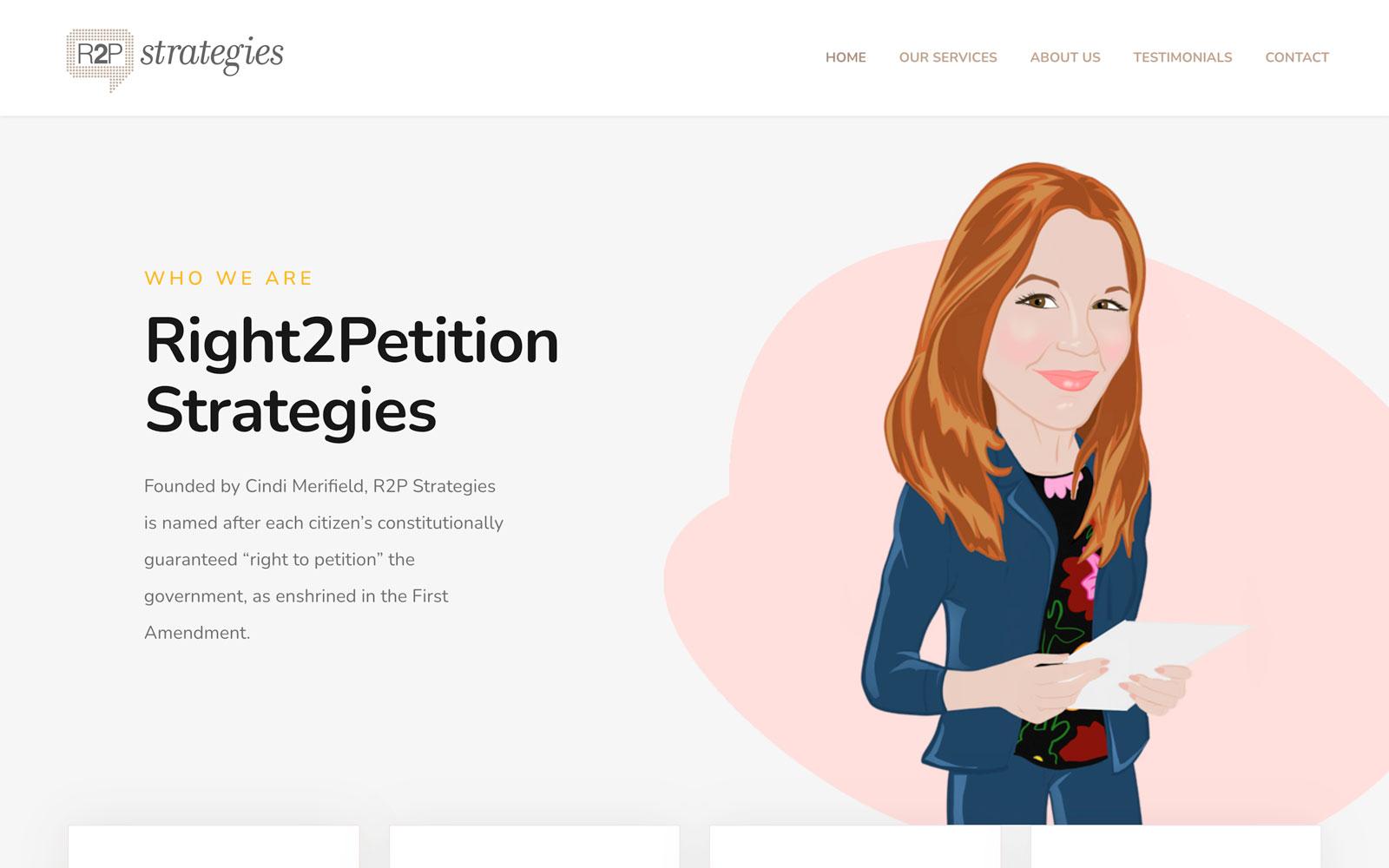 R2P Strategies Website