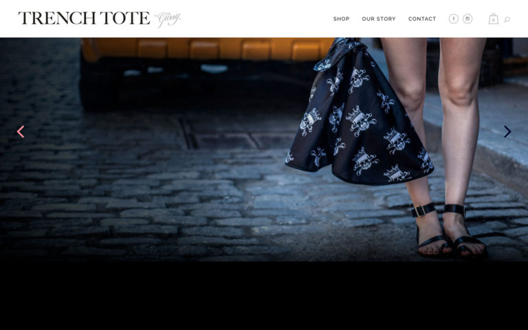 TrenchTote™ Ecommerce Shop