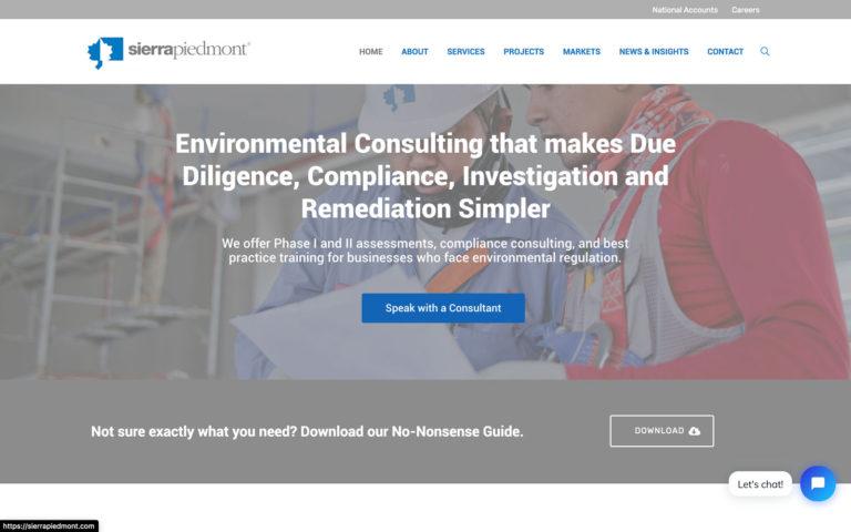 Sierra Piedmont Website