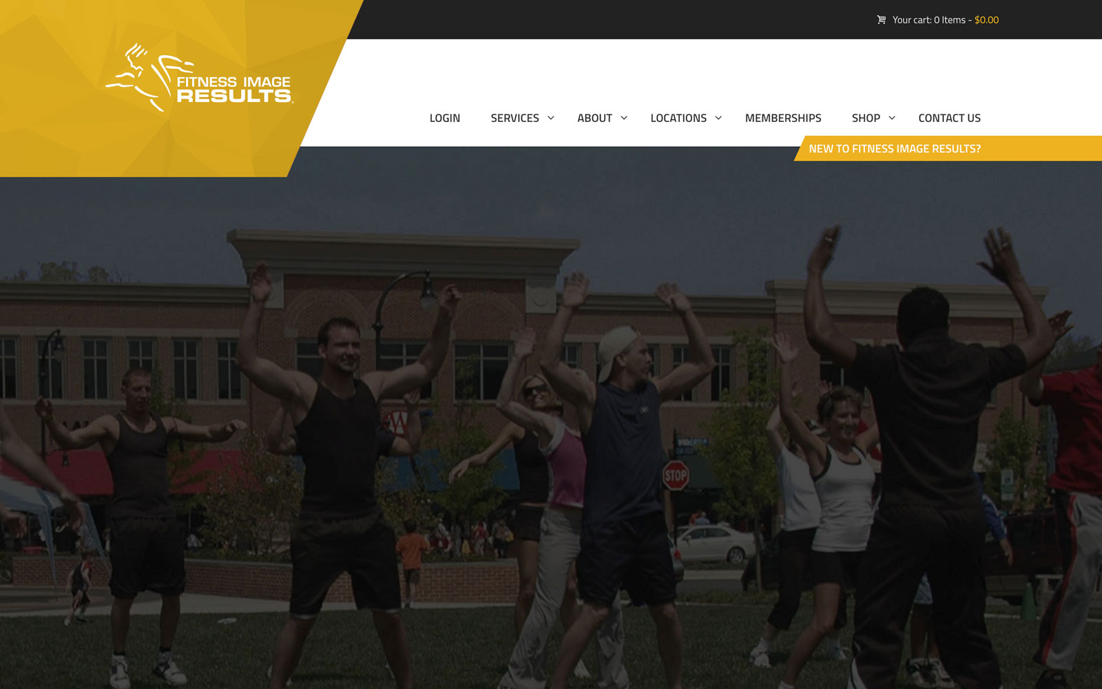 Fitness Image Results Ecommerce Website