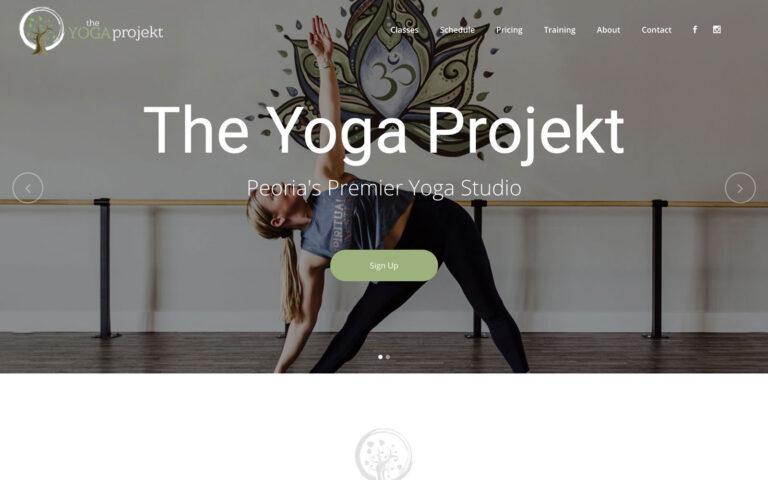 The Yoga Projekt Website